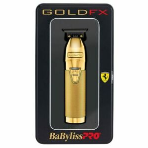 BaBylissPRO |  Gold  | FX B787S  | Metal Lithium Outlining Trimmer | MELB STORE