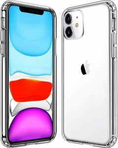 Clear Silicone Transparent Rubber Cover Case Apple iPhone 11 /11 Pro/ 11 Pro Max