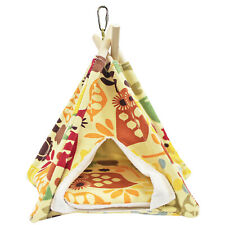 Teepee Tent (Small) - Cozy Bed - Sugar Glider, Hamster, Degu, Chinchilla, Mouse