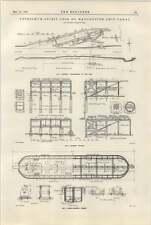 1922 Petroleum Spirit Dock On Manchester Ship Canal Ferro Concrete Caisson