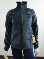 NWT Womens The North Face Osito Hybrid Soft Fleece Full Zip Jacket - Navy