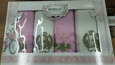 Turkish Bath, Hand & Kitchen Towel Box Set/ XMAS/B'Day/Wedding Gift SET Cotton