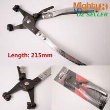 Selta Taiwan 215mm Ratchet Type Hose Clamp Pliers Cross & Multi-position Lock