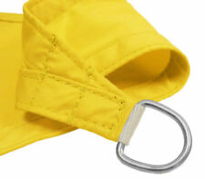 Ombrelloni da giardino in tessuto giallo