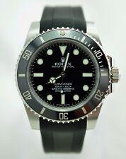 Rolex Oyster Submariner No Date 114060, Manufacturer warranty till July 2021