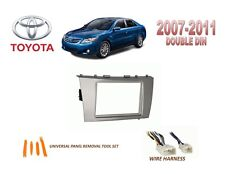 TOYOTA 2007-2011 CAMRY DASH INSTALL KIT for CAR STEREO, with WIRE HARNESS