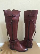 UGG COLLECTION NICOLETTA TALL BRANDY OVER THE KNEE BOOTS US 8.5 / EU 39 / UK 7