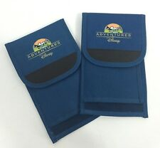 Lot Of 2 Adventures by Disney Travel Wallets Cases Passport Holders