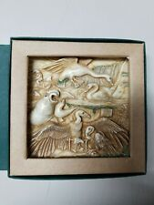 Nib Harmony Kingdom Picturesque Tile Figurine Noah's Park Beaky's Beach #Pxna3