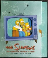 The Simpsons - The Complete Second Season (DVD, 2012, 4-Disc Set) Collectors Edt
