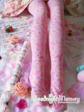 Kawaii Printed Sweet Lolita Candy Tights Pastel Pink Fairy Kei Sweets Stockings