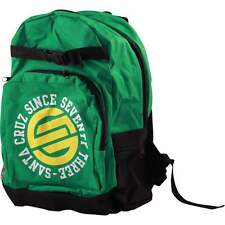 SALE - SANTA CRUZ Circulate Backpack / Skateboard, Snowboard, Surf, Bag - GREEN