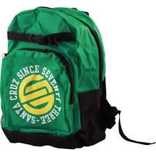 SALE - SANTA CRUZ Circulate Backpack / Skateboard, Snowboard, Surf, Bag - GREEN