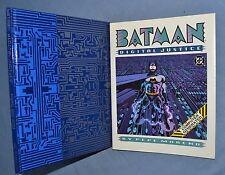 BATMAN, DIGITAL JUSTICE: PEPE MORENO 1990 HC/DJ 1ST PRINTING