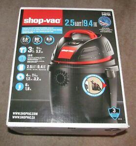 Shop-Vac 2.5 Gallon   2.5 Peak HP  Portable Wet Dry Vacuum - New in Box