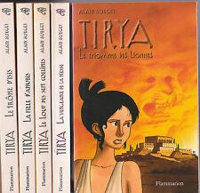 TIRYA tomes 1 à 7 Alain SURGET livre jeunesse roman EGYPTE