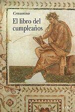 LIBRO DEL CUMPLEAÑOS, EL. NUEVO. Nacional URGENTE/Internac. económico. LITERATUR