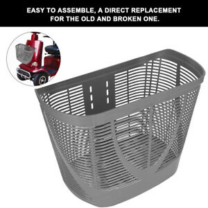 Rear Basket Accessory for Pride Mobility Scooter Sturdy Center-Support