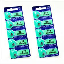 1.55V 28 mAh Silver Oxide Button-type Watch Batteries Sony 377 SR626SW V377 SR66