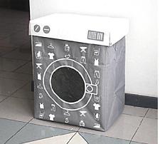 cesto bidone contenitore porta biancheria lavatrice panni sporchi moderno design