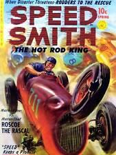 Comics velocidad Smith Hot Rod Rey Roscoe Rascal Coche Carrera Usa Poster Print ABB6459B