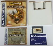 DUNGEONS & DRAGONS EYE OF THE BEHOLDER, GAME BOY ADVANCE, PAL-EUR
