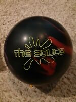"Hammer The Sauce 1st Quality Bowling Ball | 15 Pounds | 2-3"" Pin 