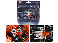 HEMI BULLET HEMI 426 ENGINE W/HEADERS & TRANSMISSION 1/18 ACME A1806702E