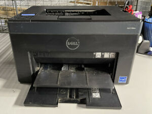 DELL C1760NW Wireless Color Laser Printer - LOW PAGE COUNT