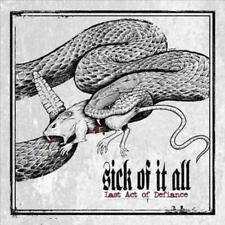 Sick of it All - Last Act of Defiance [New & Sealed] CD