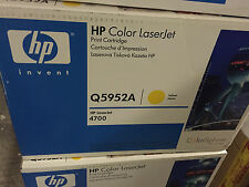 HP 643A toner LaserJet jaune authentique Q5952A
