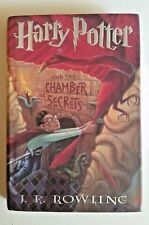 Harry Potter AND THE CHAMBER OF SECRETS (2) 1ST Edition 1999  Spelling ERROR