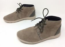 Men's CROCS Tan Suede Leather Desert Chukka Casual Walking Athletic Shoes Sz. 8