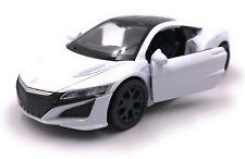 Maquette de Voiture Honda Nsx Hybride Sport Blanc Auto Échelle 1:3 4-39