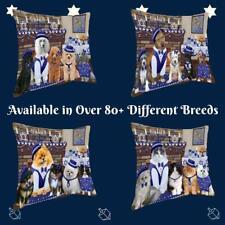 Hanukkah Family Dog Cat Pet Photo Lovers Throw Decorative Travel Pillow