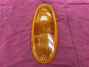 USED OEM 70-76 Porsche 914, 914-6 Hella Front Turn Signal Lens 91463193411
