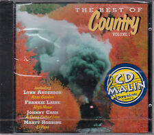 CD 13T THE BEST OF COUNTRY LYNN ANDERSON/FRANKIE LAINE/WYNETTE....NEUF SCELLE