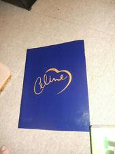 """Celine Dion 1998 """"Lets Talk About Love"""" World Tour Program Magazine"""