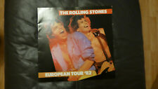 ROLLING STONES. Tour Programme. Europe 1982. Excellent Condition.