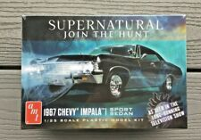 AMT 1/25 1967 CHEVY IMPALA 4 DOOR SUPERNATURAL JOIN THE HUNT MODEL KIT 1124 F/S