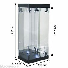 """Acrylic Display Case LED Light Box for 12"""" 1/6 scale Catwoman Collectible Figure"""