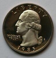 1985-D Washington Quarter Choice BU Roll Uncirculated 40 Coins