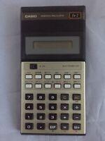 Casio Scientific Calculator Model: fx-7