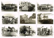 LOT 22 ANCIENNES PHOTOS CAVALCADE CHATELUS MALVALEIX CREUSE 1964 / 1965