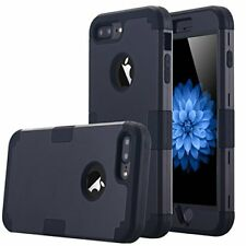 Accessories Full Body Case For iPhone 7 Plus Rugged Protector Dual Layer BLACK