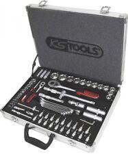 """KS-TOOLS 911.0670 1/4"""" + 1/2"""" SUPERLOCK Juego De Llaves De Zócalo, 70 piezas"""