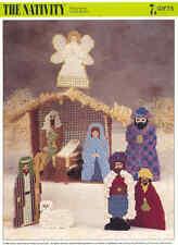 The Nativity  ~  plastic canvas pattern,  Annie's International pattern