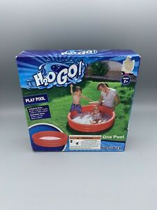 Best Way H2O GO Kids Inflatable Play Swimming Pool