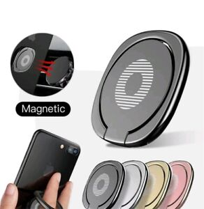 Ring Holder Finger Grip 360° #black# Rotate Stand Mount Stent for Mobile Phone