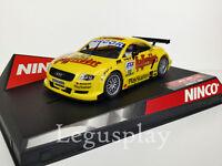 Scx Scalextric Slot Ninco 50246 Audi Abt N #20 Giallo